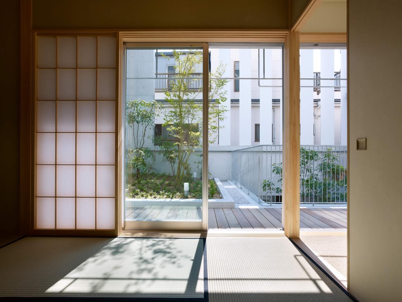 鶴見の住宅の和室