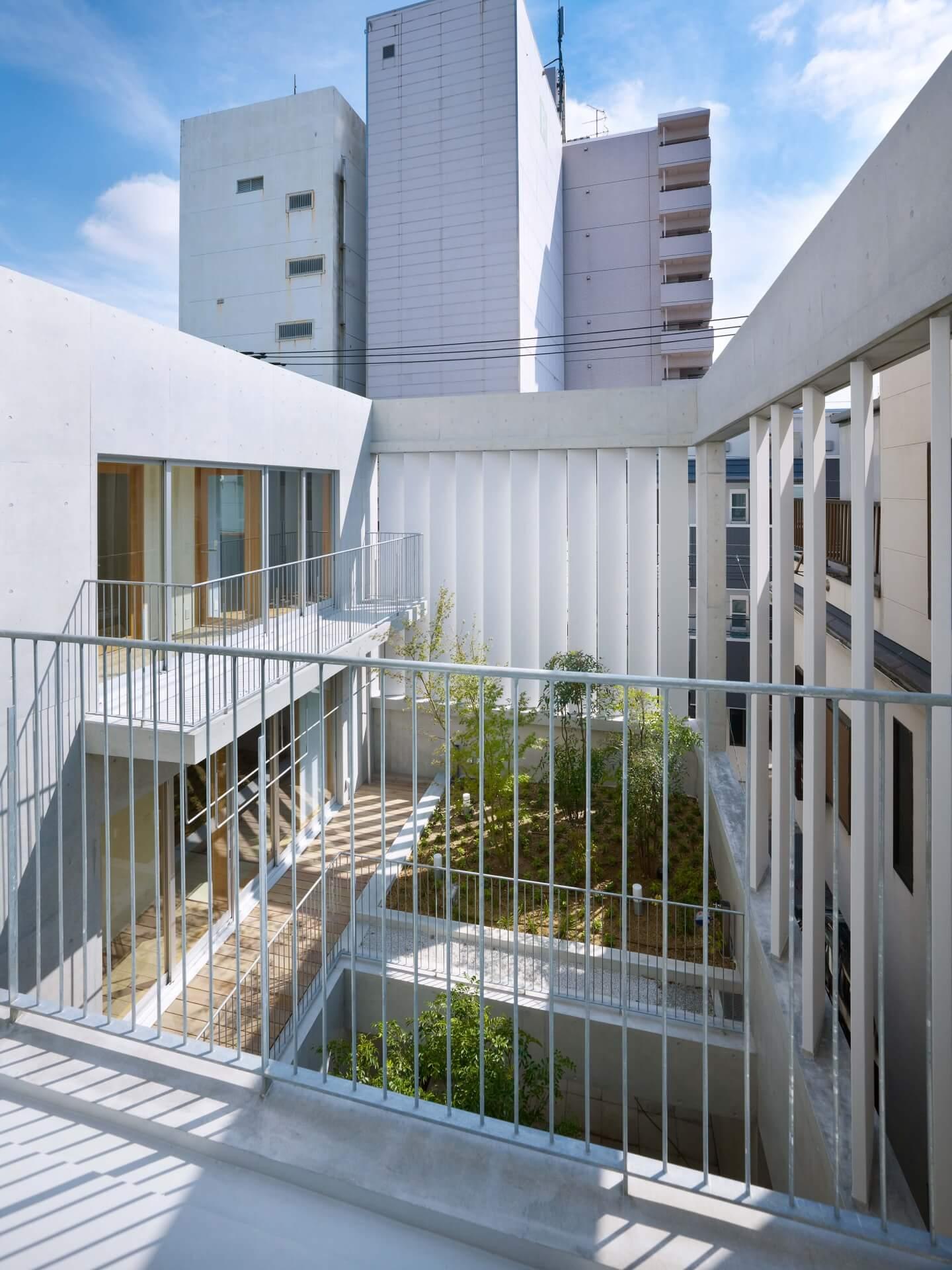 鶴見の住宅3Fからの眺め