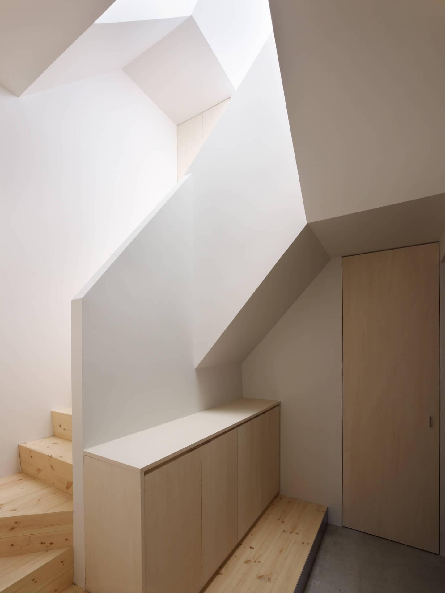 青戸の住宅の階段