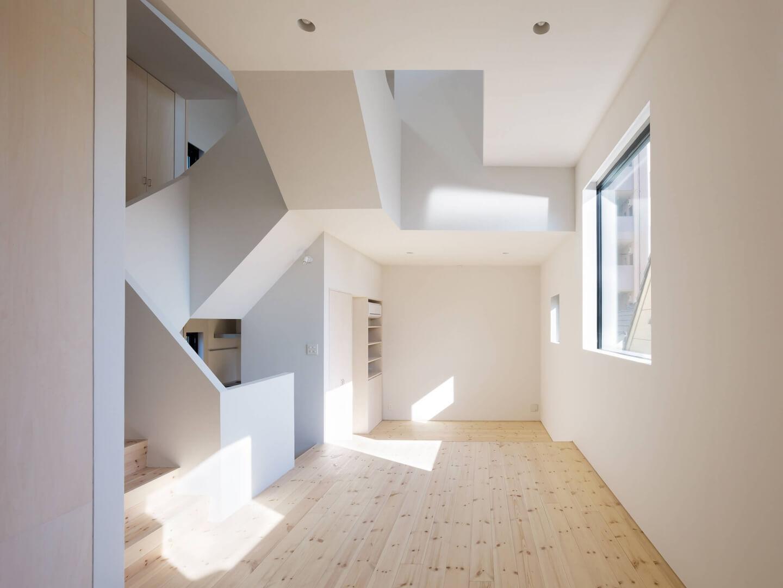 青戸の住宅のリビング