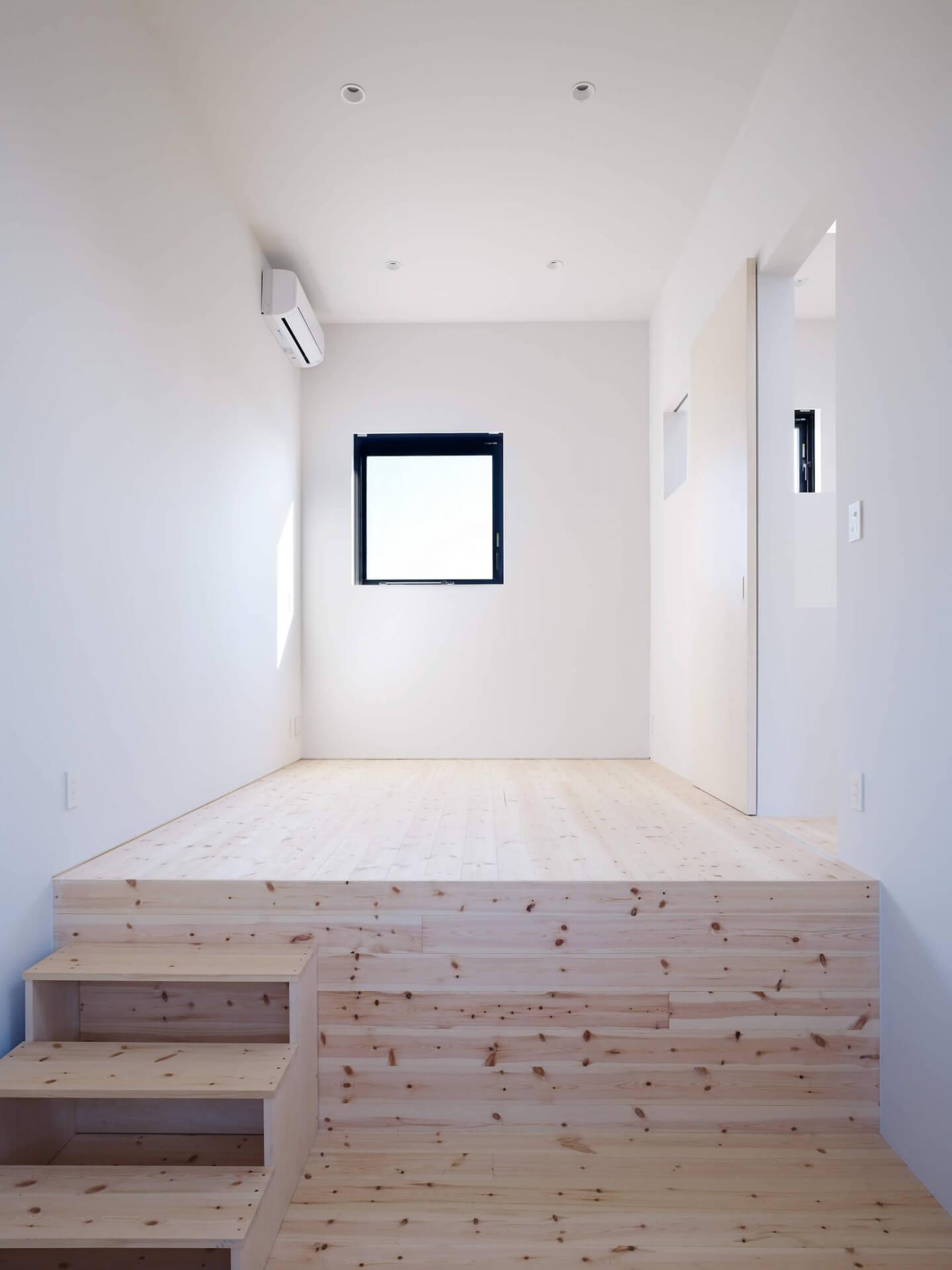 青戸の住宅の中2階