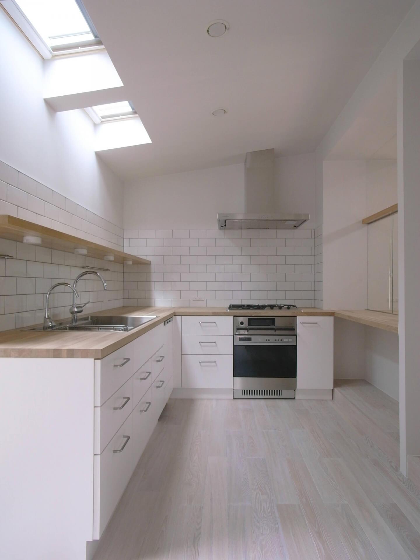 篠山の住宅キッチン