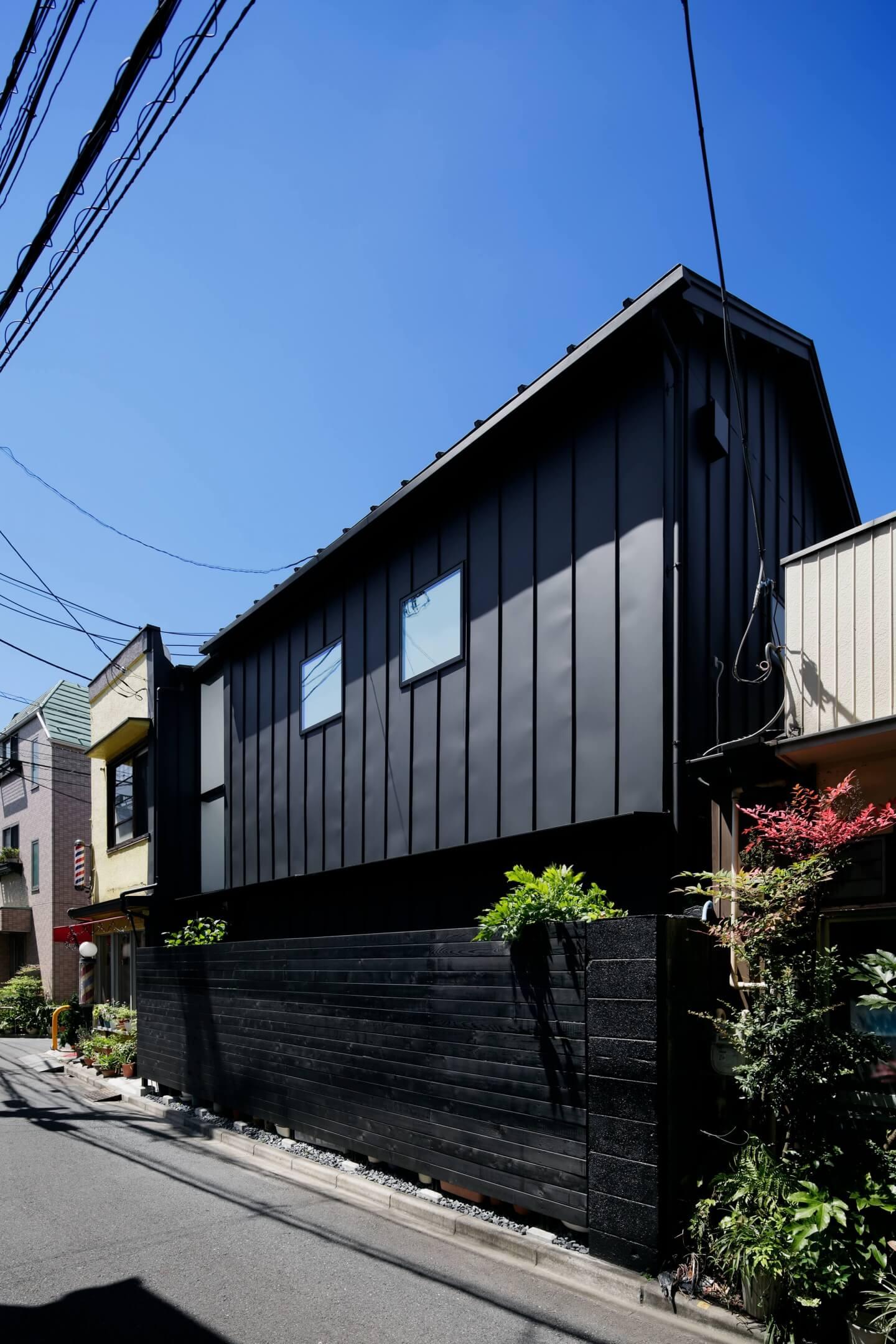 堀切の住宅の外観