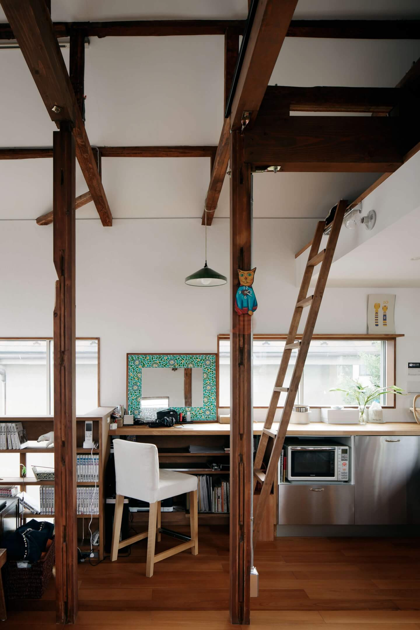 吉祥寺の住宅のWORKSスペース