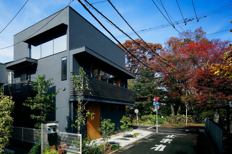 桜町の住宅の外観