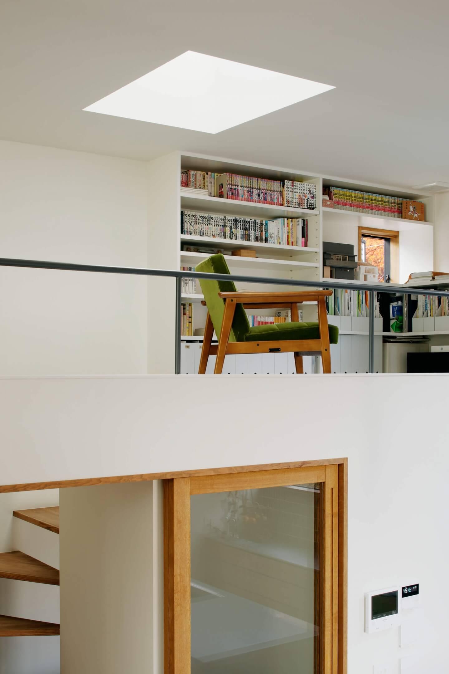 桜町の住宅の3階