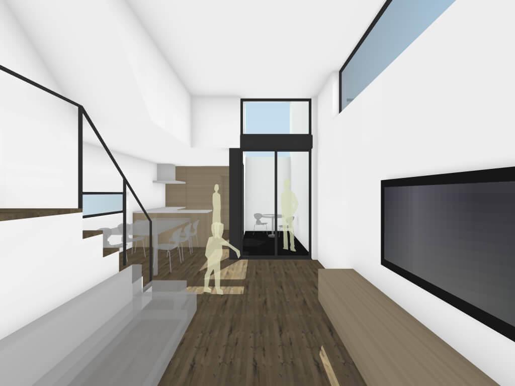 調布の住宅LDKイメージ