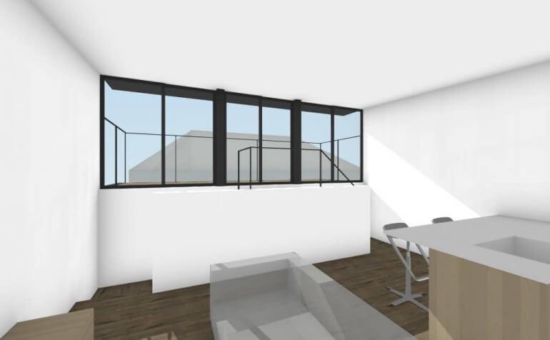 富士見台の住宅LDKイメージ