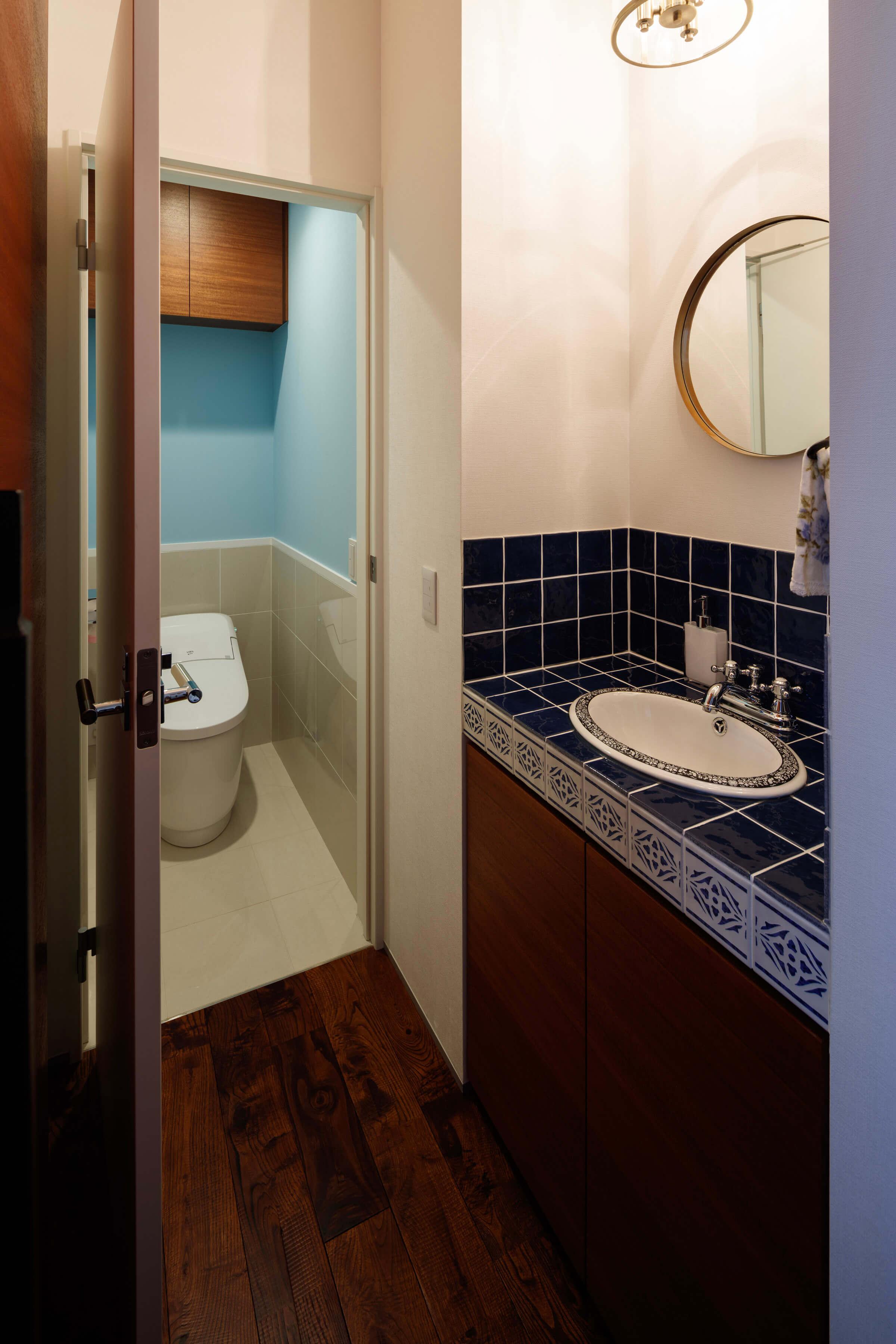 市川の住宅 トイレ