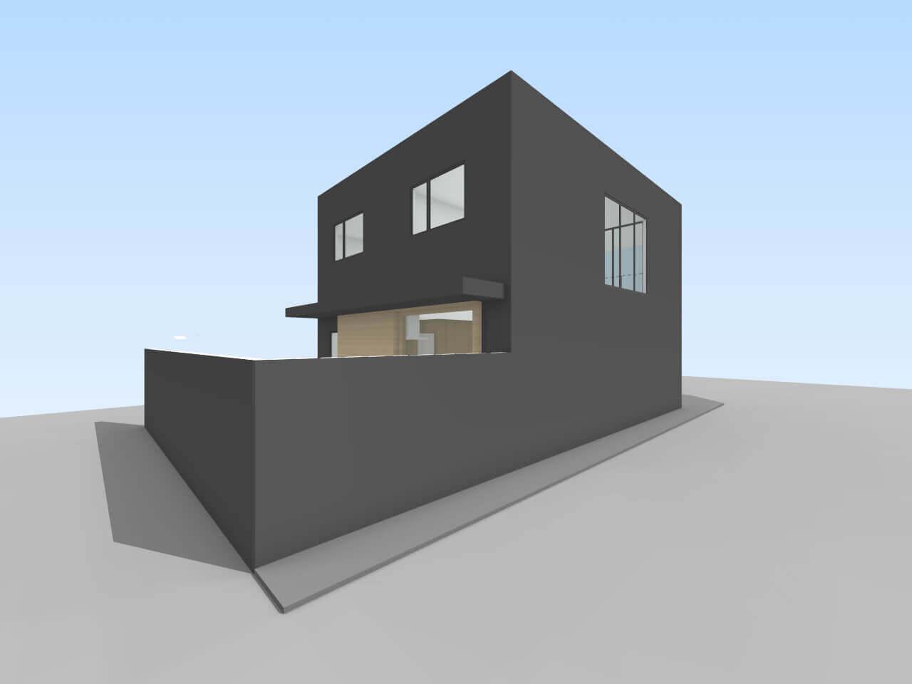 中山の住宅
