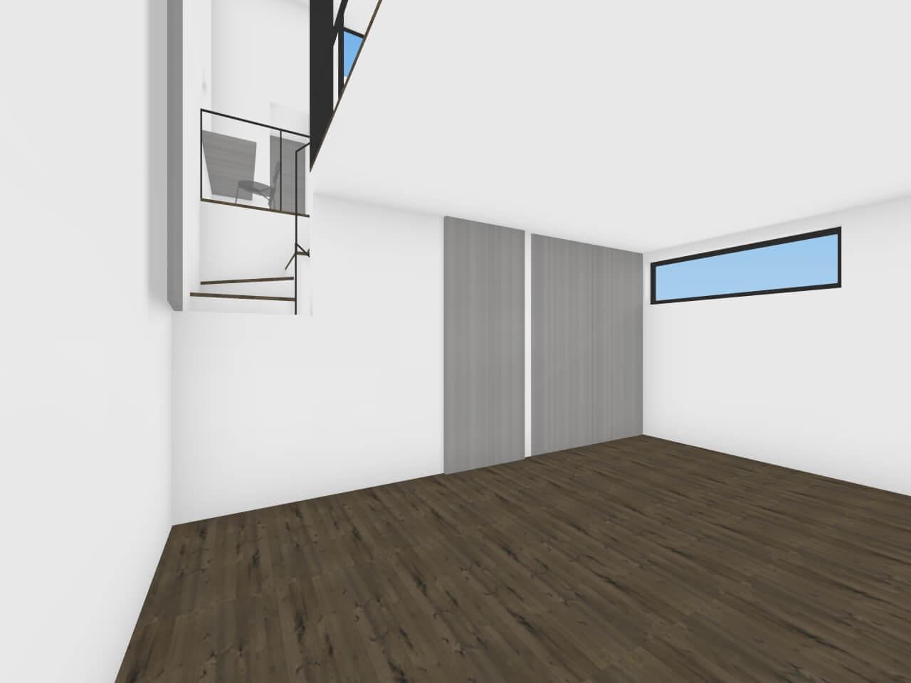 奥沢の住宅の部屋