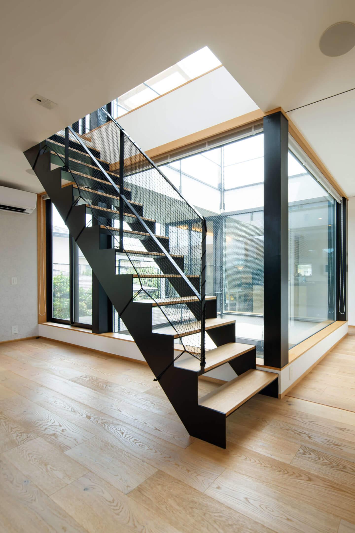 上祖師谷の住宅の階段