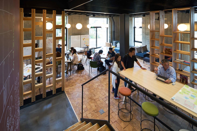 シビックイノベーション拠点・スナバ shiojiri1階
